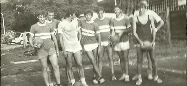 A kazincbarcikai röplabdások (1968).